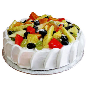 Fresh Fruit Cake from Five Star Bakery