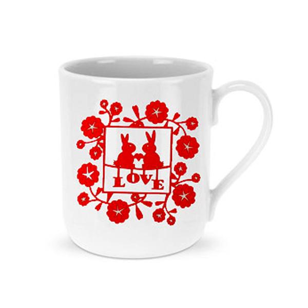 Red Love Mug