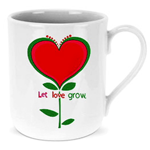 Mugs-Let Love Grow Mug