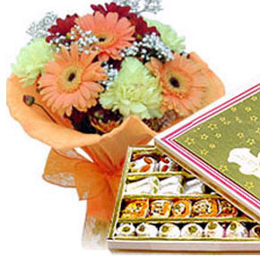Flowers N Assorted Sweets
