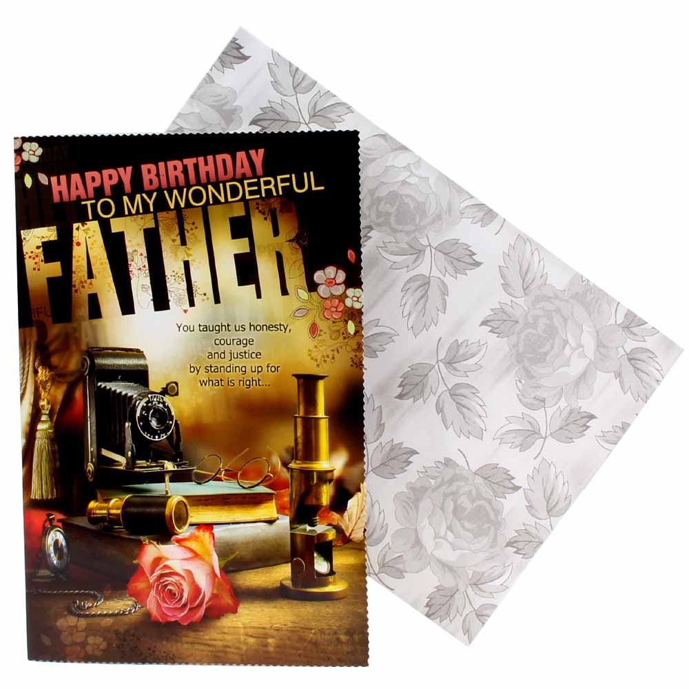 Father Birthday Greeting Card