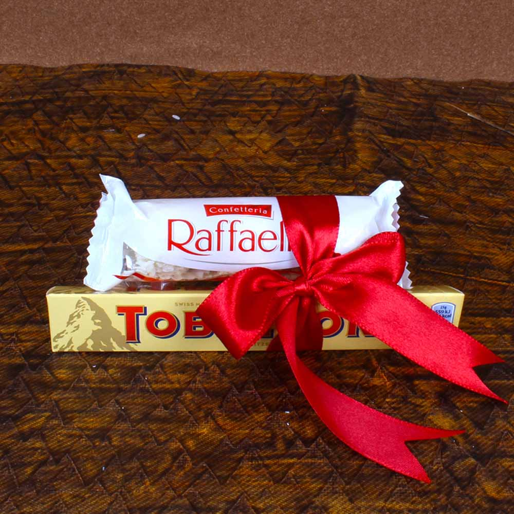 Raffaello and Toblerone Chocolates