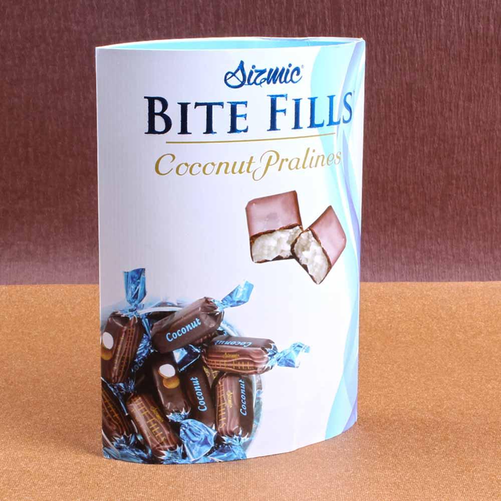 Sizmic Bite Fills Coconut Pralines