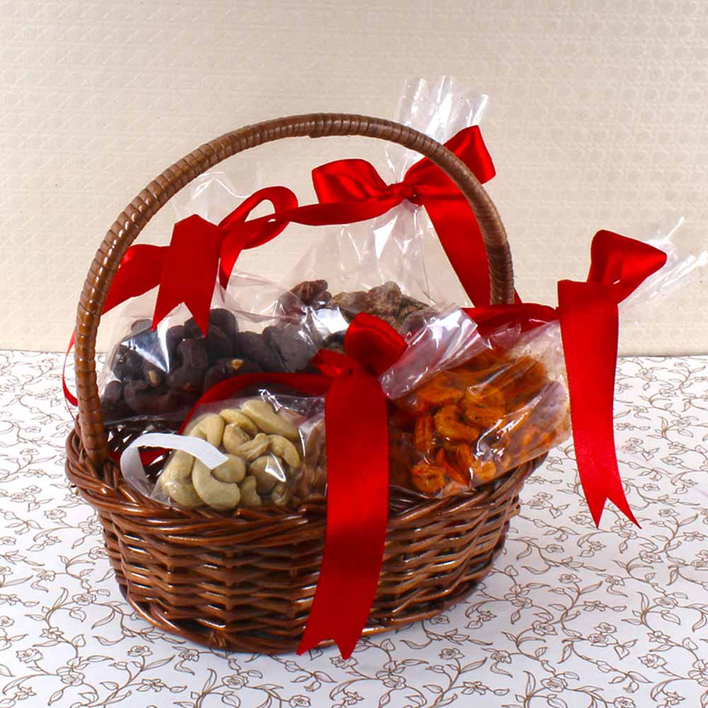 Assorted Cashew in Basket