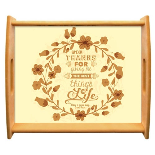 Miscellaneous-Mums Personalised Tray
