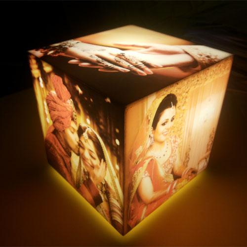 Cubelit Personalised Lamp