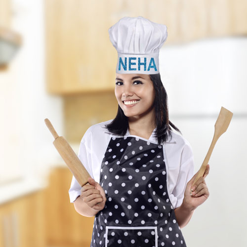Miscellaneous-Chef Hat With Name