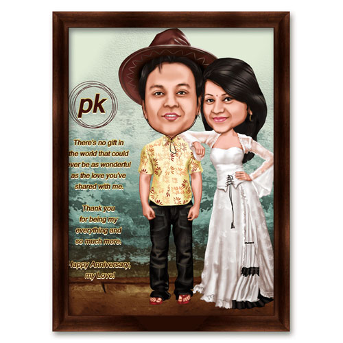 Miscellaneous-Bollywood Caricature PK