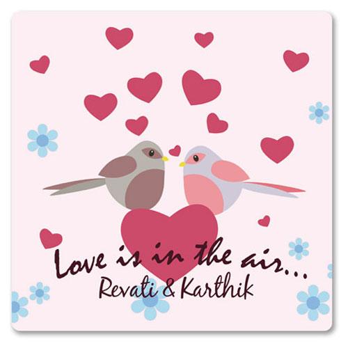 Love Personalised Magnet