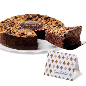Magic Bar Brownie Cake