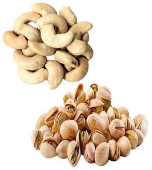 Dry Fruits-Cashews & Pistachoss