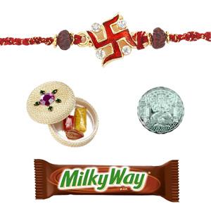 Chocolates-Milky Way Bar Rakhi Special