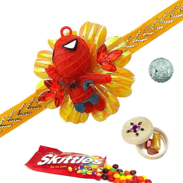 Chocolates-Skittles Rakhi Special