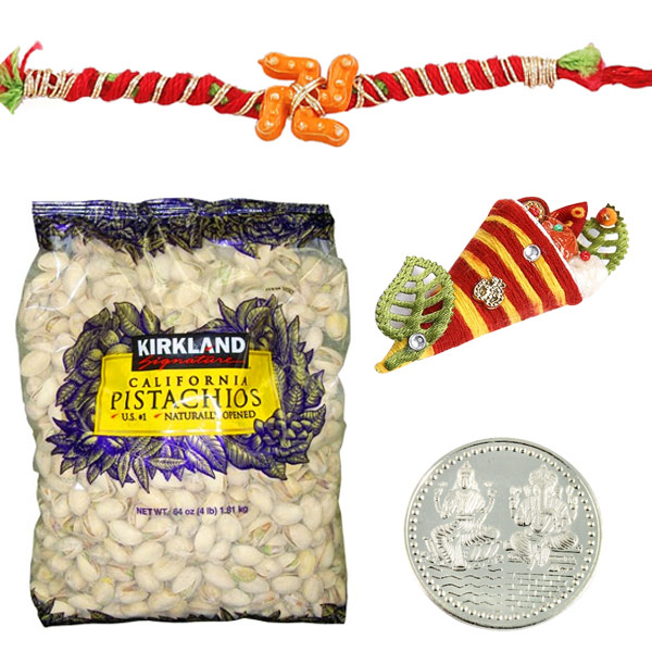 Rakhi with Kirkland Signature Pistachios
