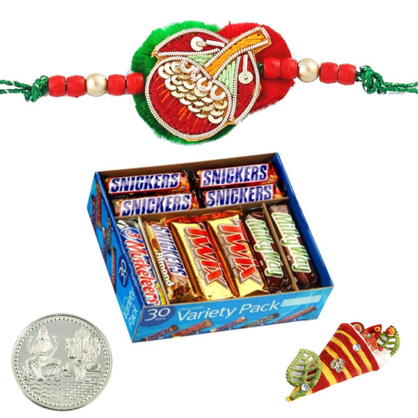 Rakhi with Mars Chocolate Variety Pack
