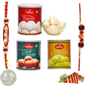 Sweets & Dryfruits-Haldiram Rakhi Triple Dhamaal