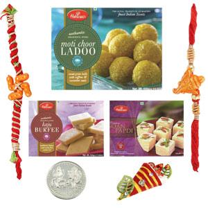 Sweets & Dryfruits-Haldiram Rakhi Bumper Offer