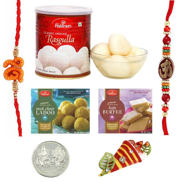 Sweets & Dryfruits-Haldiram Rakhi Pyara Bandhan