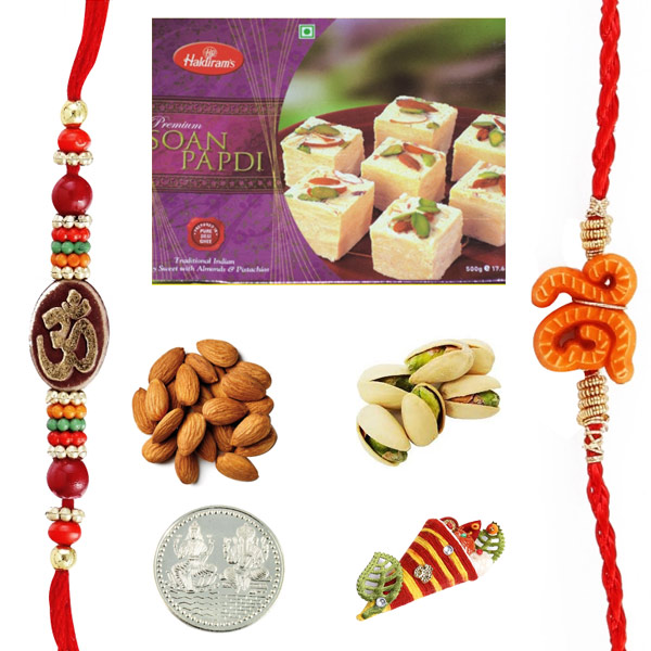 Soan Papadi dryfruits Rakhi Pack