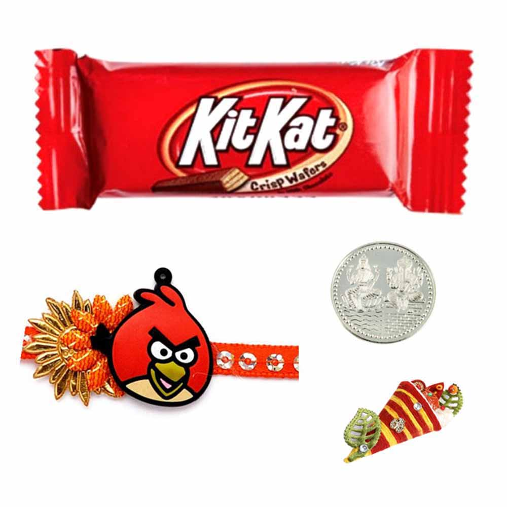 Chocolates-Kitkat Bar Rakhi Special