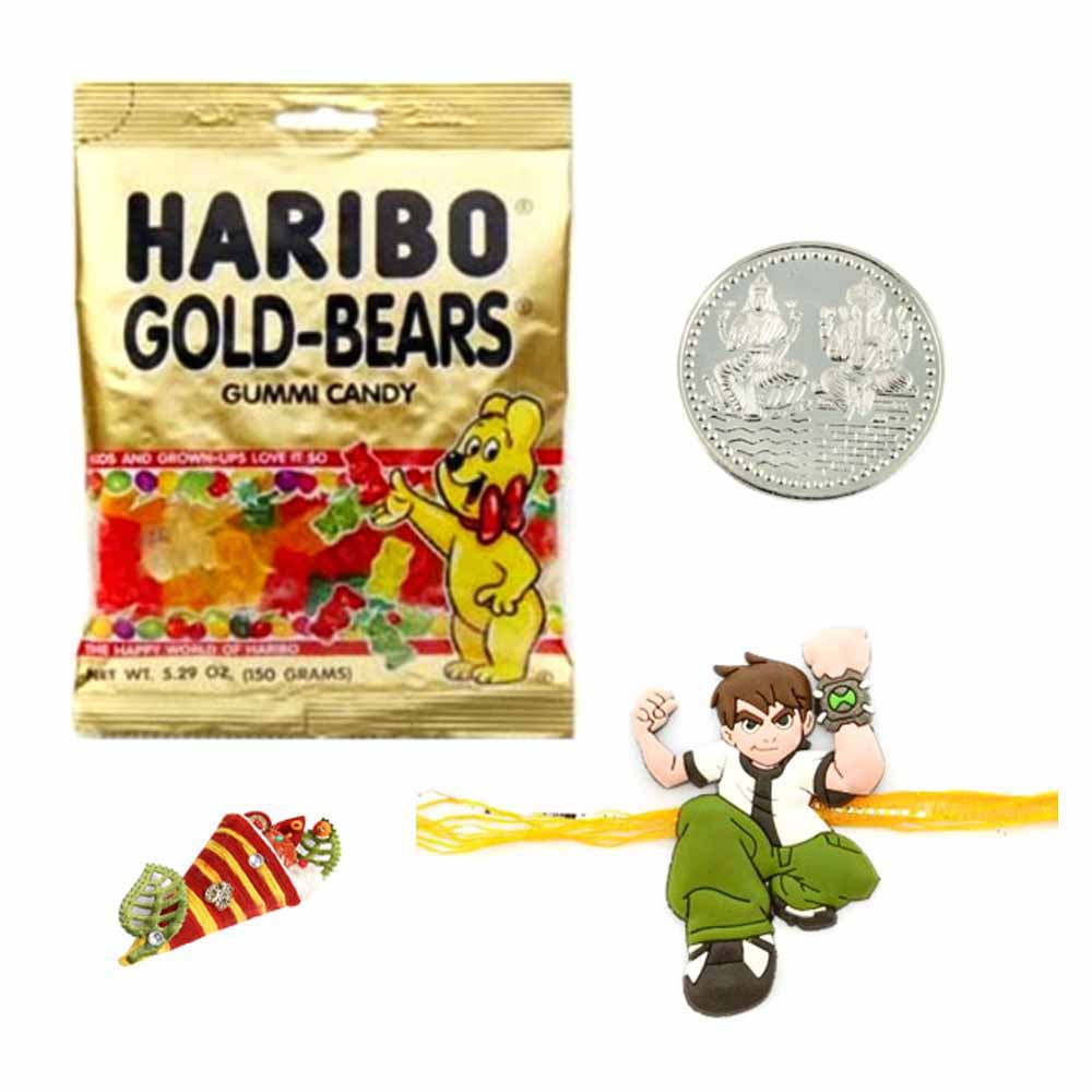 Gold Bear Gummies Rakhi Special