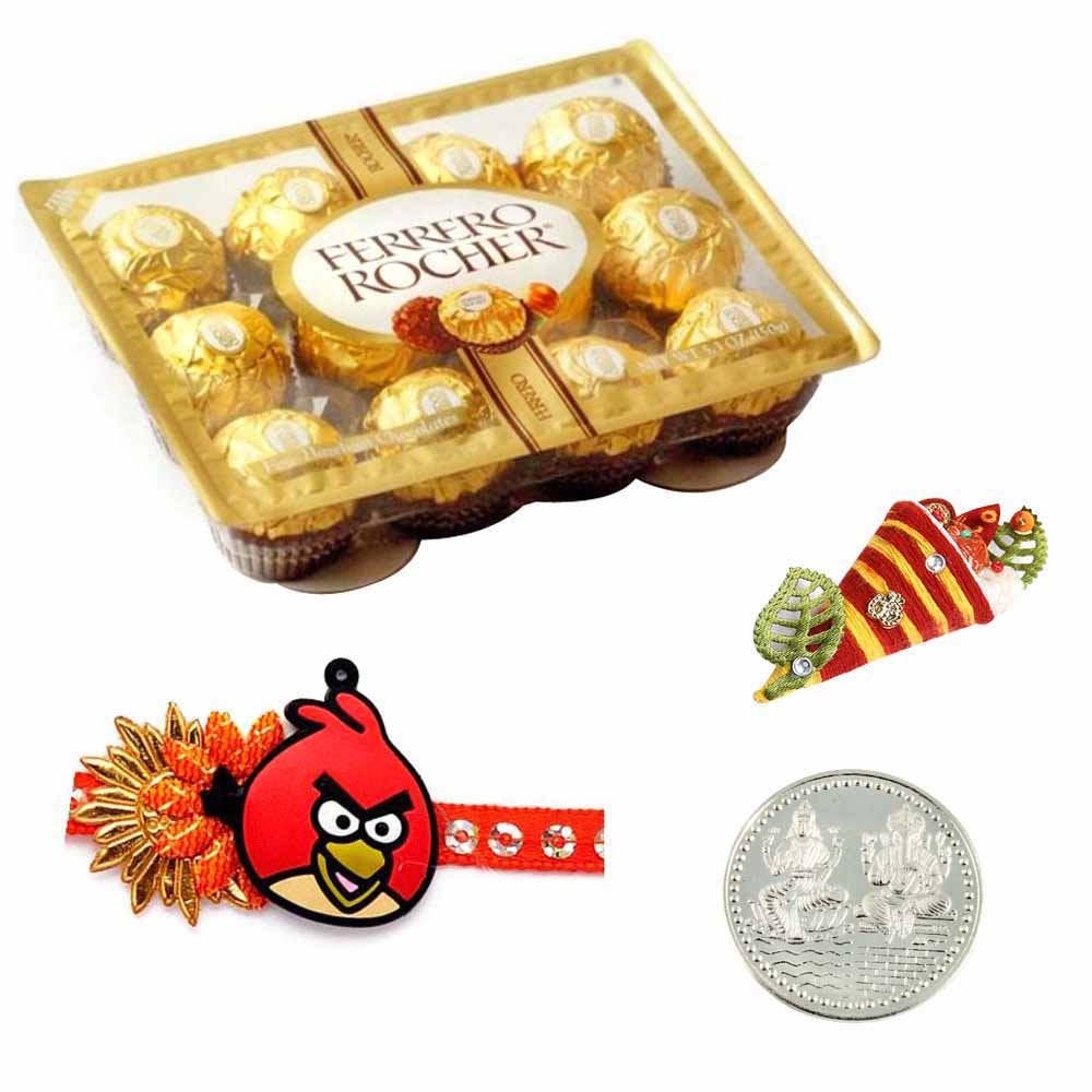 Kids Rakhi with Ferrero Rocher