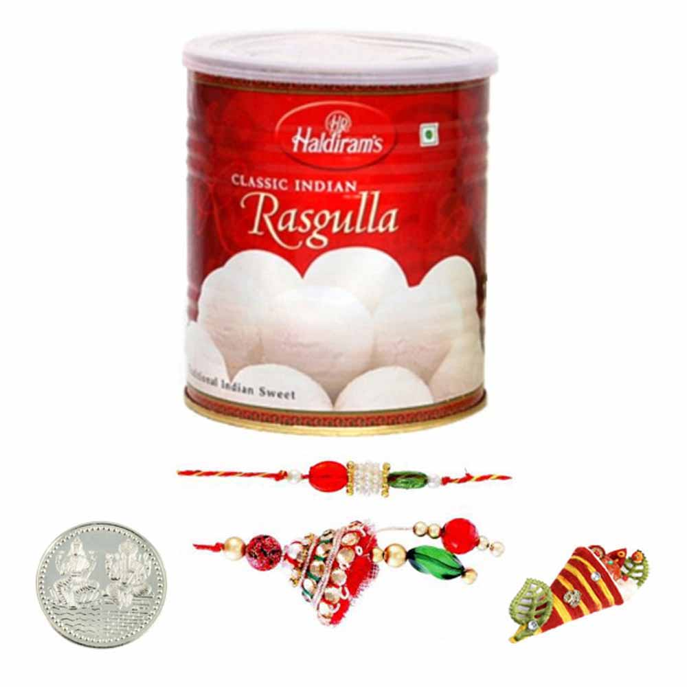Lumba Pair with Haldiram Rasgulla