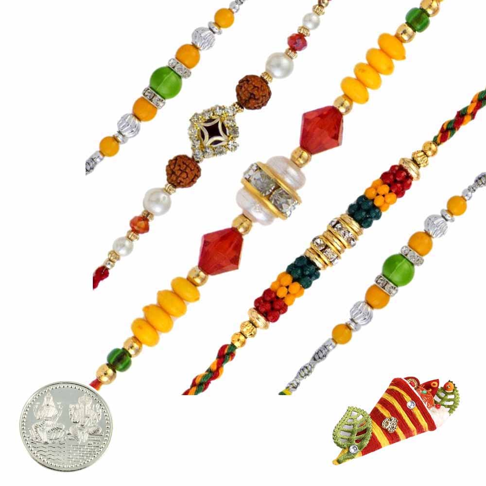Fancy Rakhi Set of
