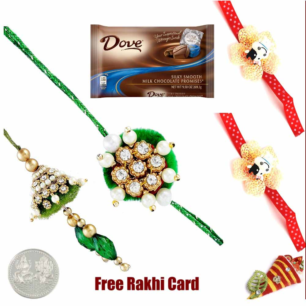 Dove Milk Chocolate Rakhi Special
