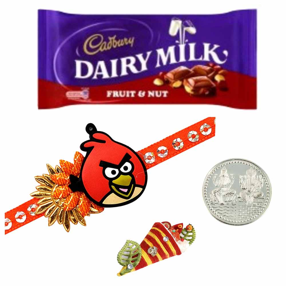 Kids Rakhi with Cadbury Fruit & Nut