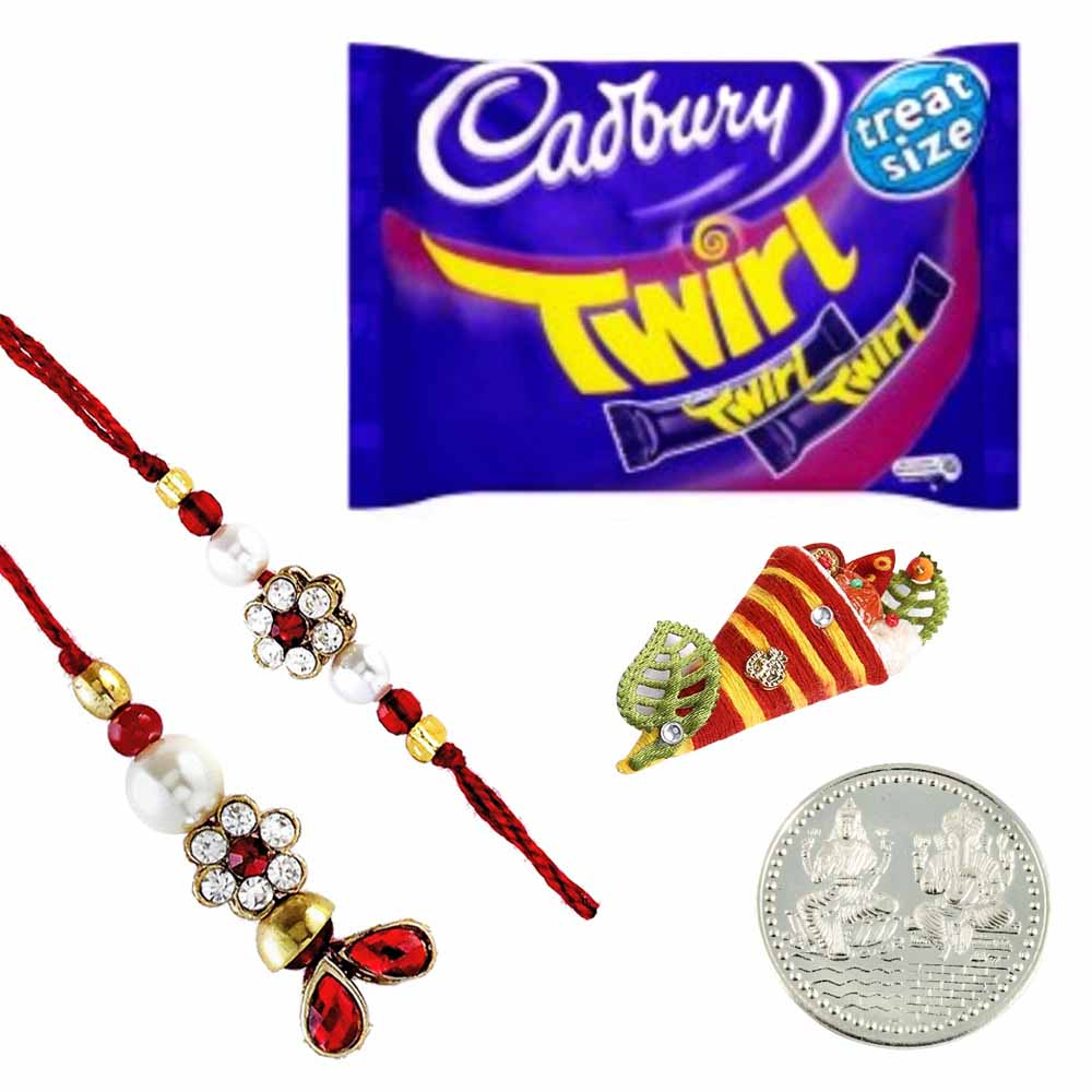 Lumba pair with Cadbury Twirl Bar