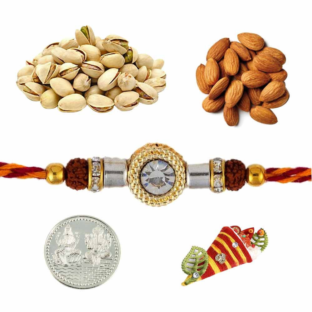 Rakhi with Almonds and Pistachios