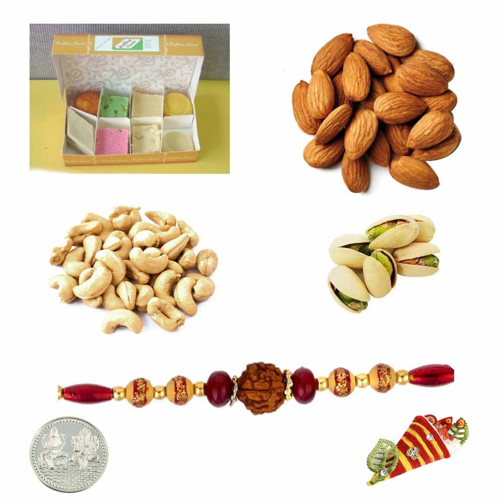 Assorted Sweets with Assorted Dryfruits