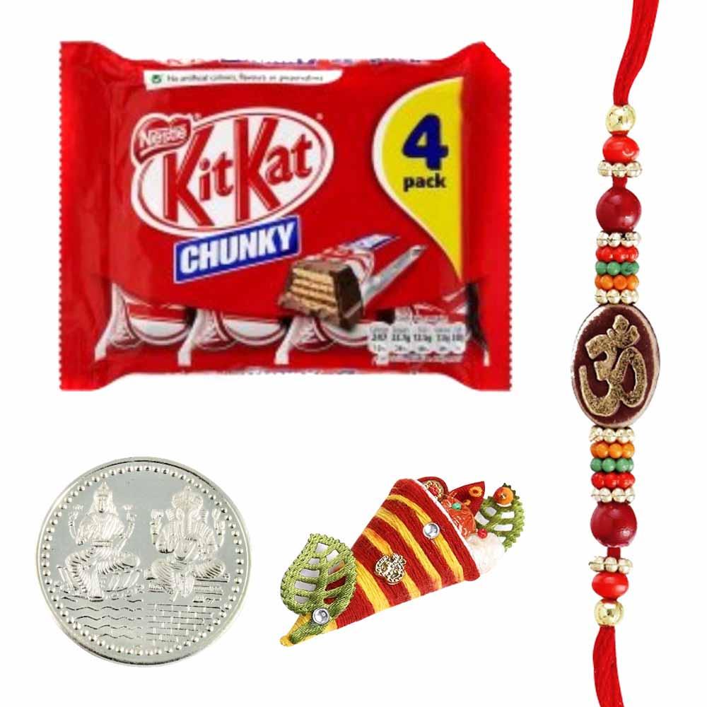 Chocolates-KitKat 4 Pack Rakhi Special