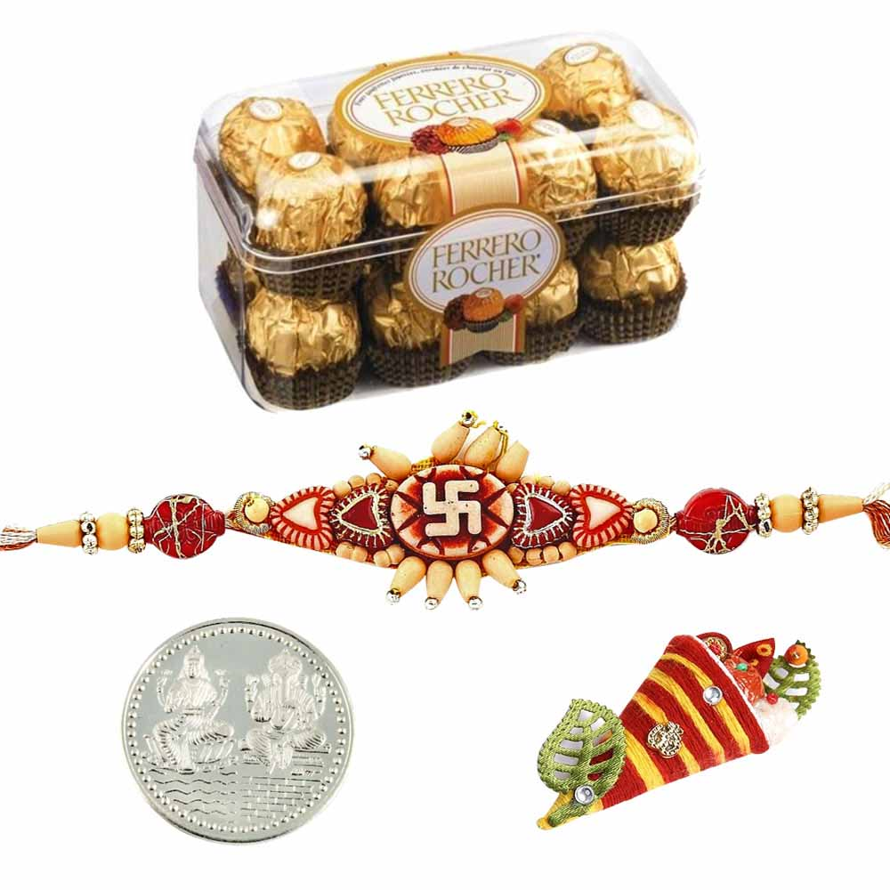 Ferrero Rocher 5 Pieces Boxed Chocolates Rakhi Special