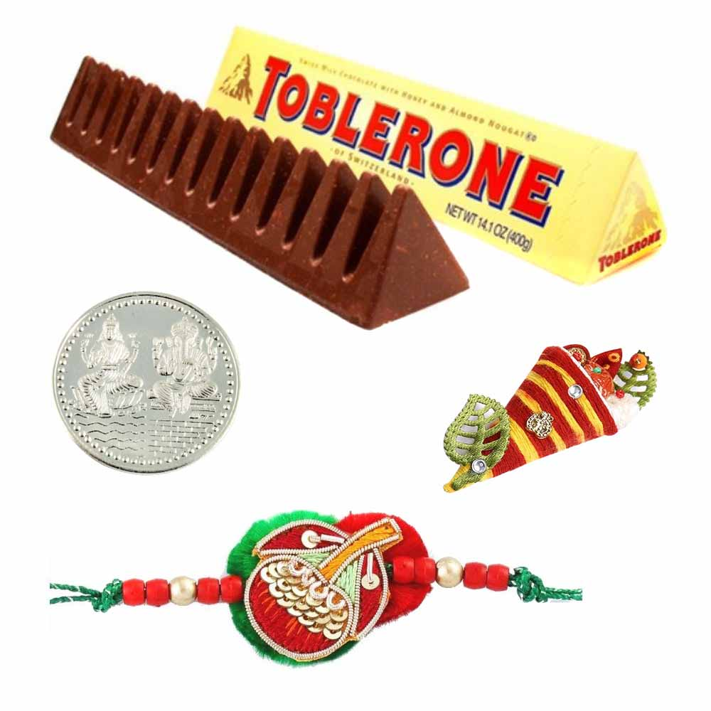 Chocolates-Toblerone Milk Chocolate Rakhi Special
