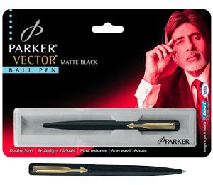 Parker Vector Matte Black Ball Pen