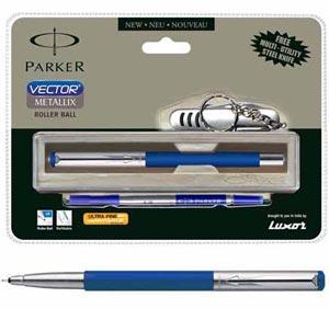 Parker Vector Metallix Roller Ball pen
