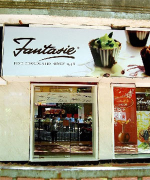 Fantasie Fine Chocolates Gift Voucher