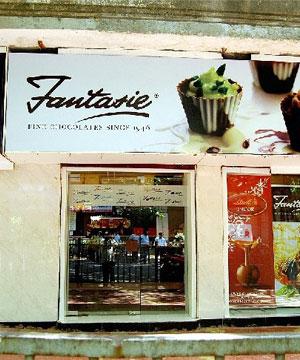 Fast Food Gift Vouchers-Fantasie Fine Chocolates Gift Voucher
