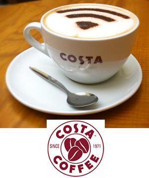 Costa Coffee Gift Voucher