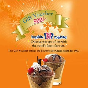 Baskin Robbins Gift Voucher test
