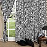 Stylish Tiger Print Window Curtain