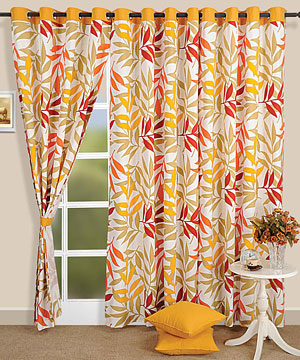Whispering Leaves Window Curtain