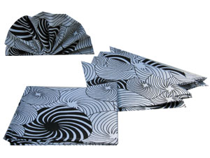 Swirls Of Joy Napkin Set