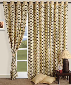 Pattern of Nature Window Curtain
