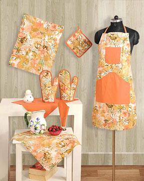 Peach Garden Kitchen Set