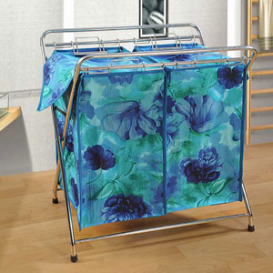 Hydrengea and Tulips Laundry Bag