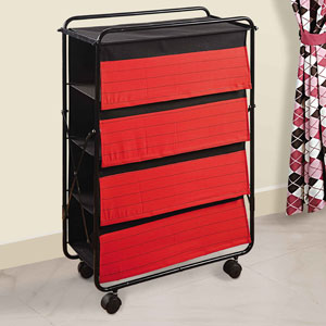 Red and Black Delight Multi-Purpose Rack