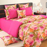 Festival of Spring Comforter and Double Bedsheet Set
